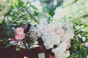 Composition Florale Hortensia Par Elisabeth Delsol