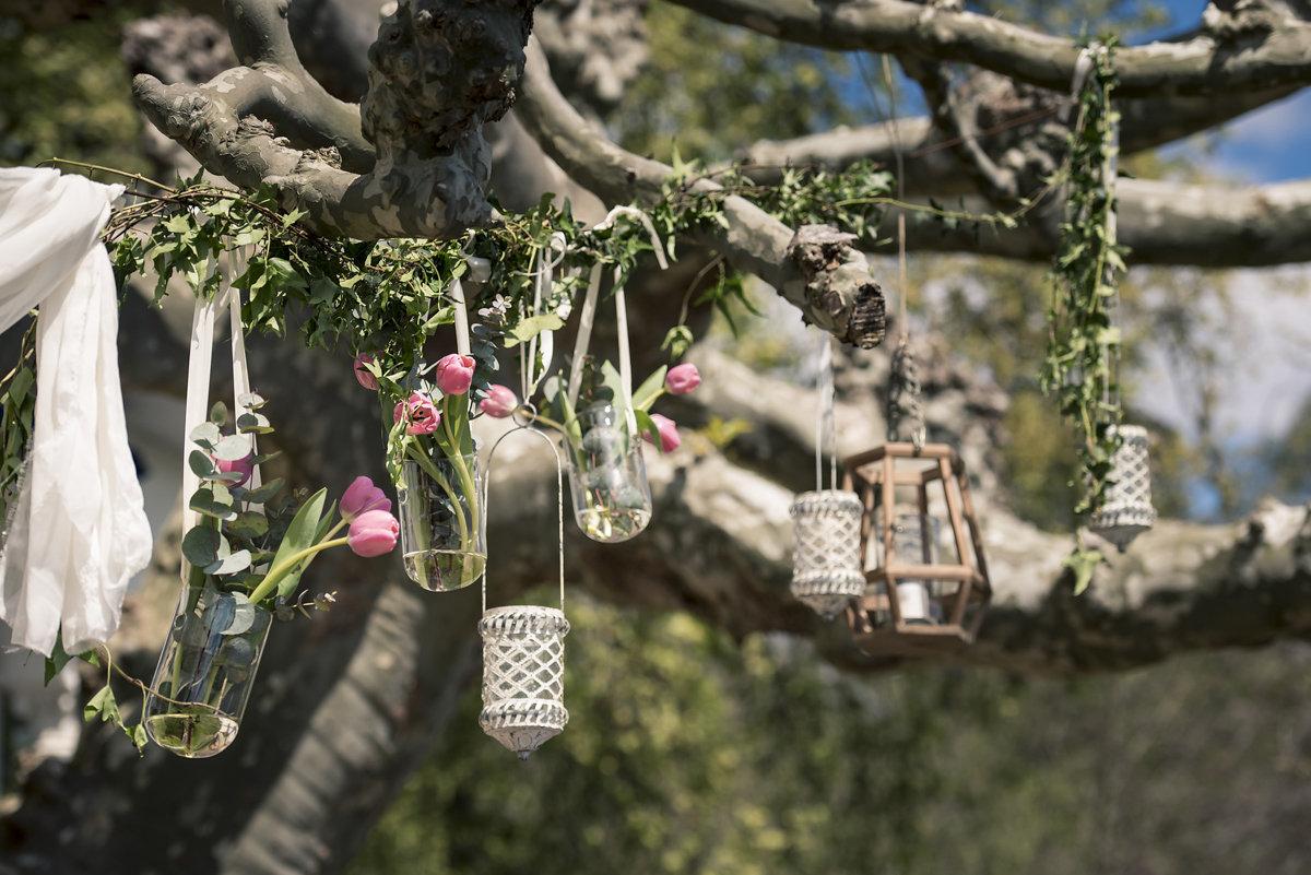 composition florale été déco par Elisabeth Delsol