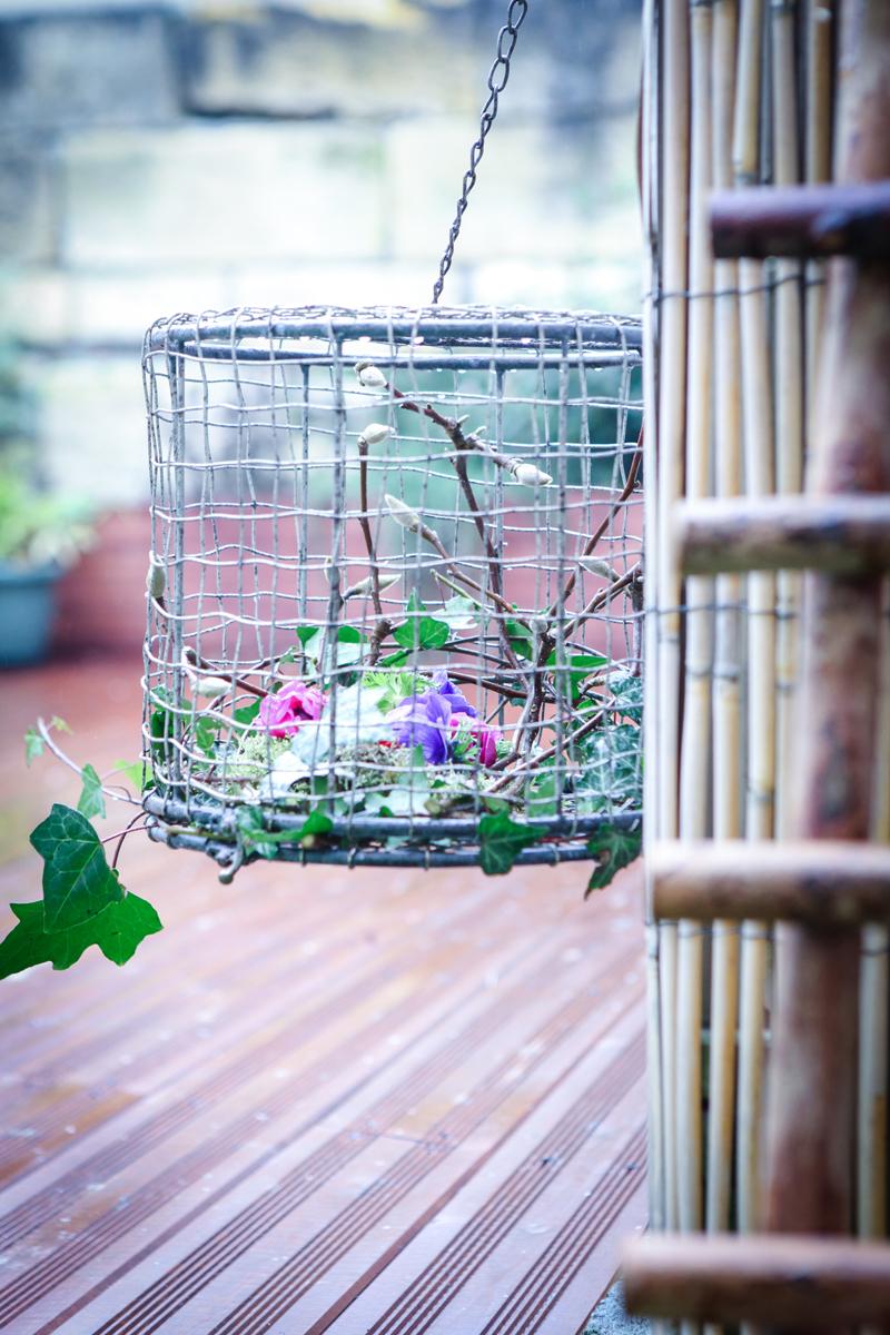 composition florale d'hiver déco Elisabeth Delsol