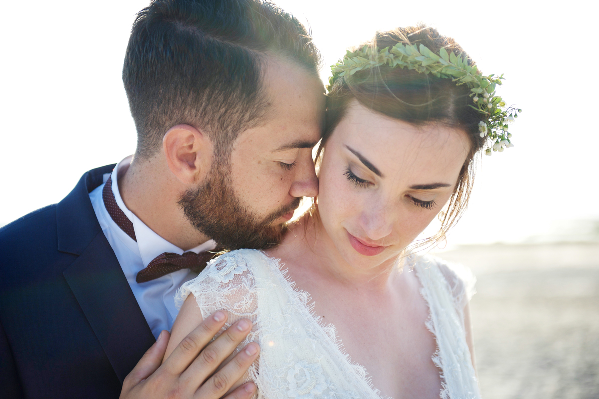 Photographie de nos mariés et amoureux du Cap Ferret.