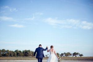 Photographie De Nos Mariés Et Amoureux Du Cap Ferret.decoration Fleurs Mariage Cap Ferret