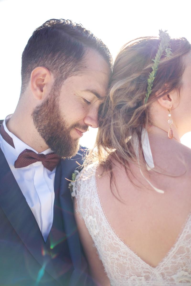 decoration fleurs mariage cap ferret