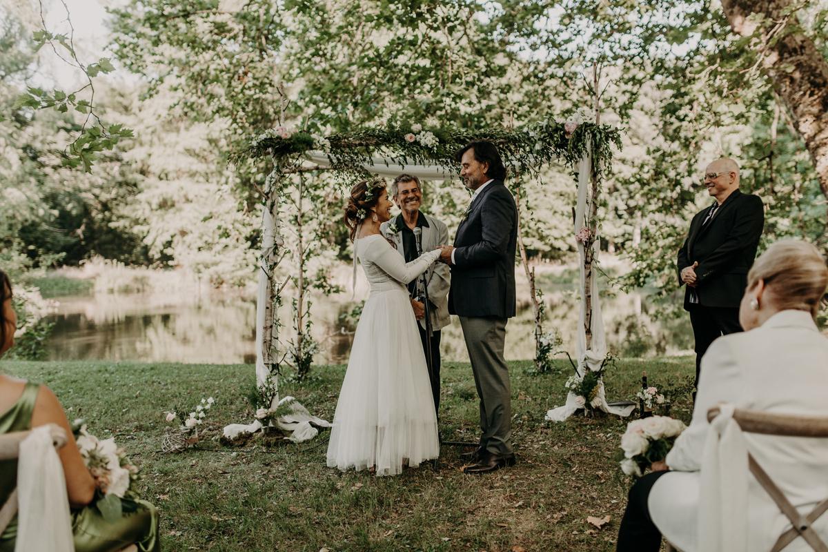 arche de mariage décoration par Elisabeth Delsol