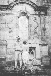 Séance Photographie De Couple Sur Le Thème Bohème Et Romantique En Gironde.