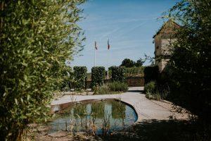 Jardin, Terrasse Et Château Pour Réception De Luxe Sur La Gironde Et Le Sud Ouest De La France.