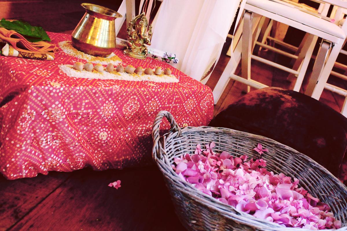 mariage hindou décoration