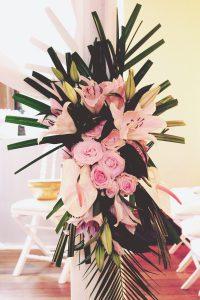 Mariage Aux Fleurs Et Végétaux Hindou Et à La Déco Chic.