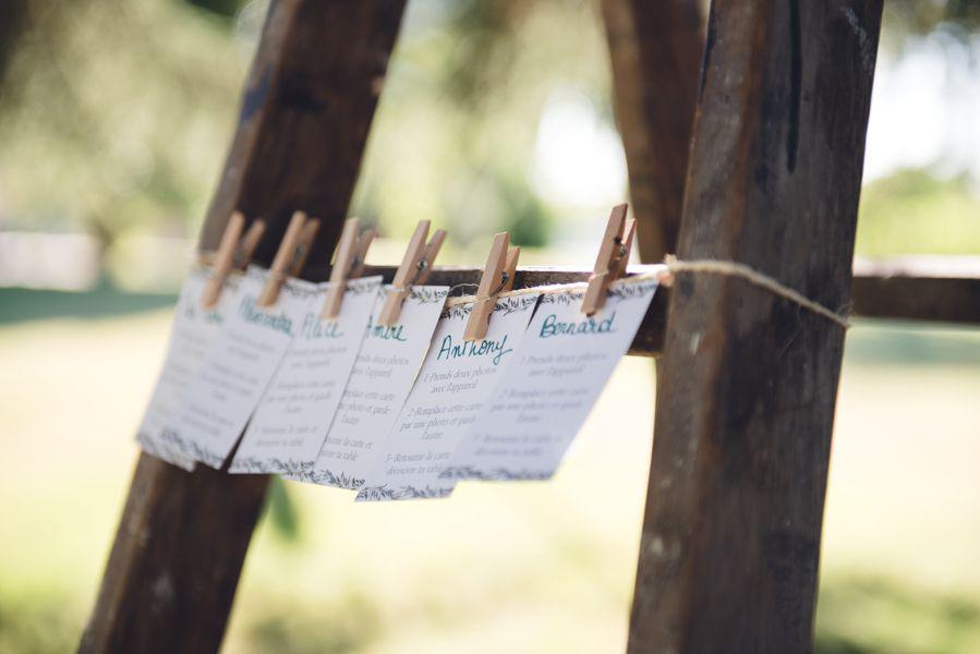 Décoration et plan de table de mariage de printemps par Elisabeth Delsol en Gironde.