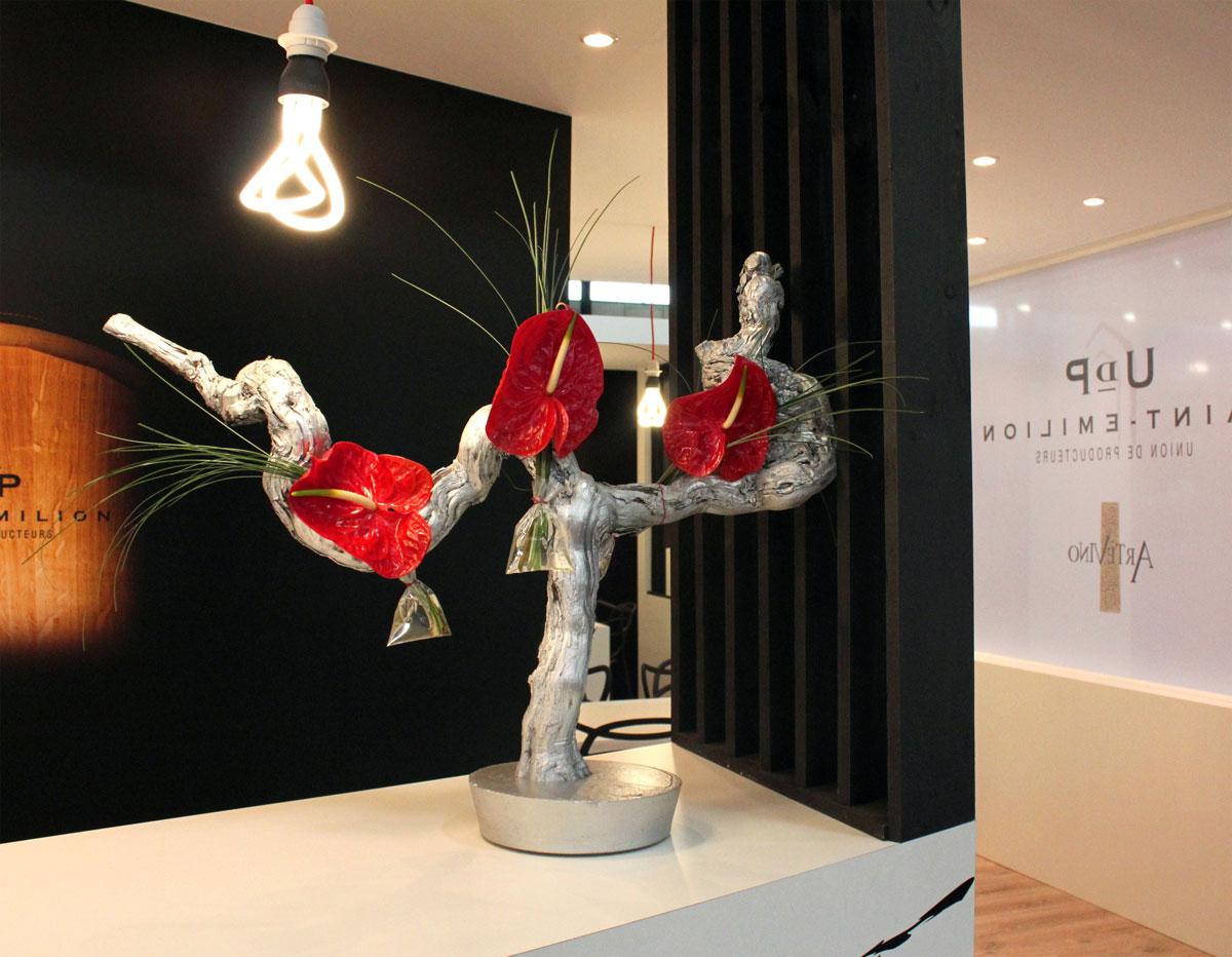 décoration stand salon professionnel par Elisabeth Delsol