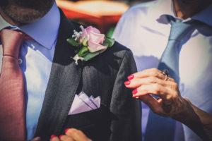Fleur Boutonnière Mariage D'une Décoration D'Elisabeth Delsol