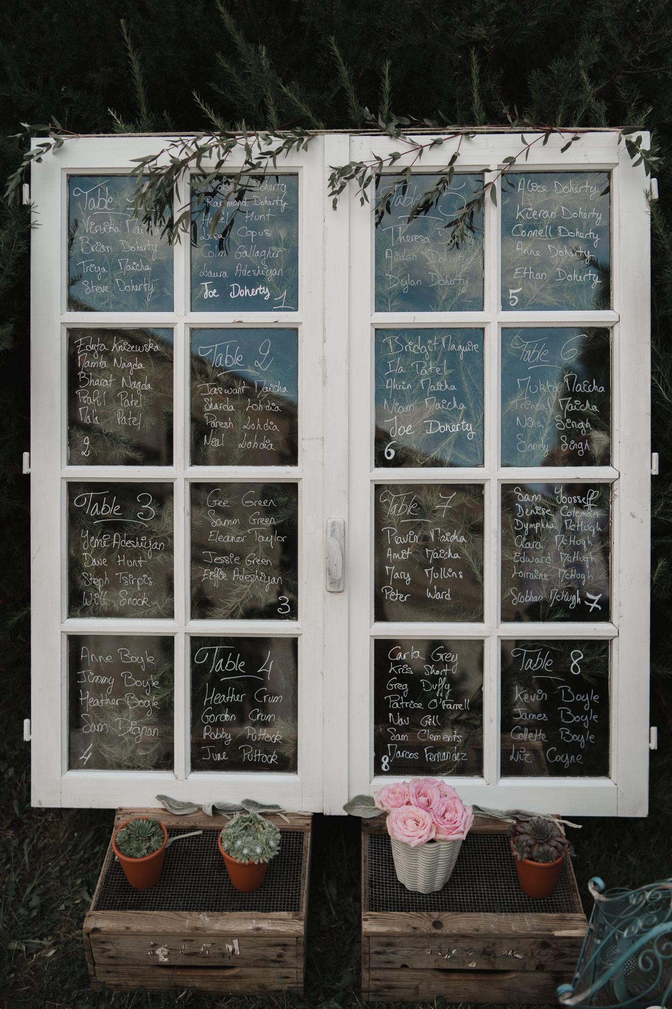 signalétique mariage déco par Elisabeth Delsol