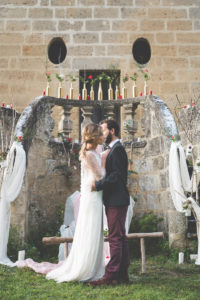 Décoration De Mariage En Hiver Par La Décoratrice Elisabeth Delsol.