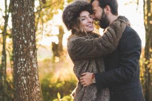 Séance Photo De Mariage En Hiver Dans Un Jardin Romantique De Bordeaux Et De Gironde.