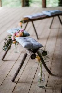 Cérémonie Et Décoration De Mariage Boho Chic Dans Le Sud Ouest De La France.