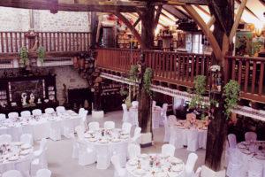 Décoration De La Salle De Mariage De La Ferme Inharria Au Pays Basque.