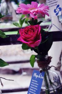 Décoration De Mariage En Rose à La Ferme Inharria Par Elisabeth Delsol.