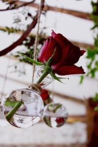 Décoration De Mariage En Rose De La Ferme Inharria Par Elisabeth Delsol.