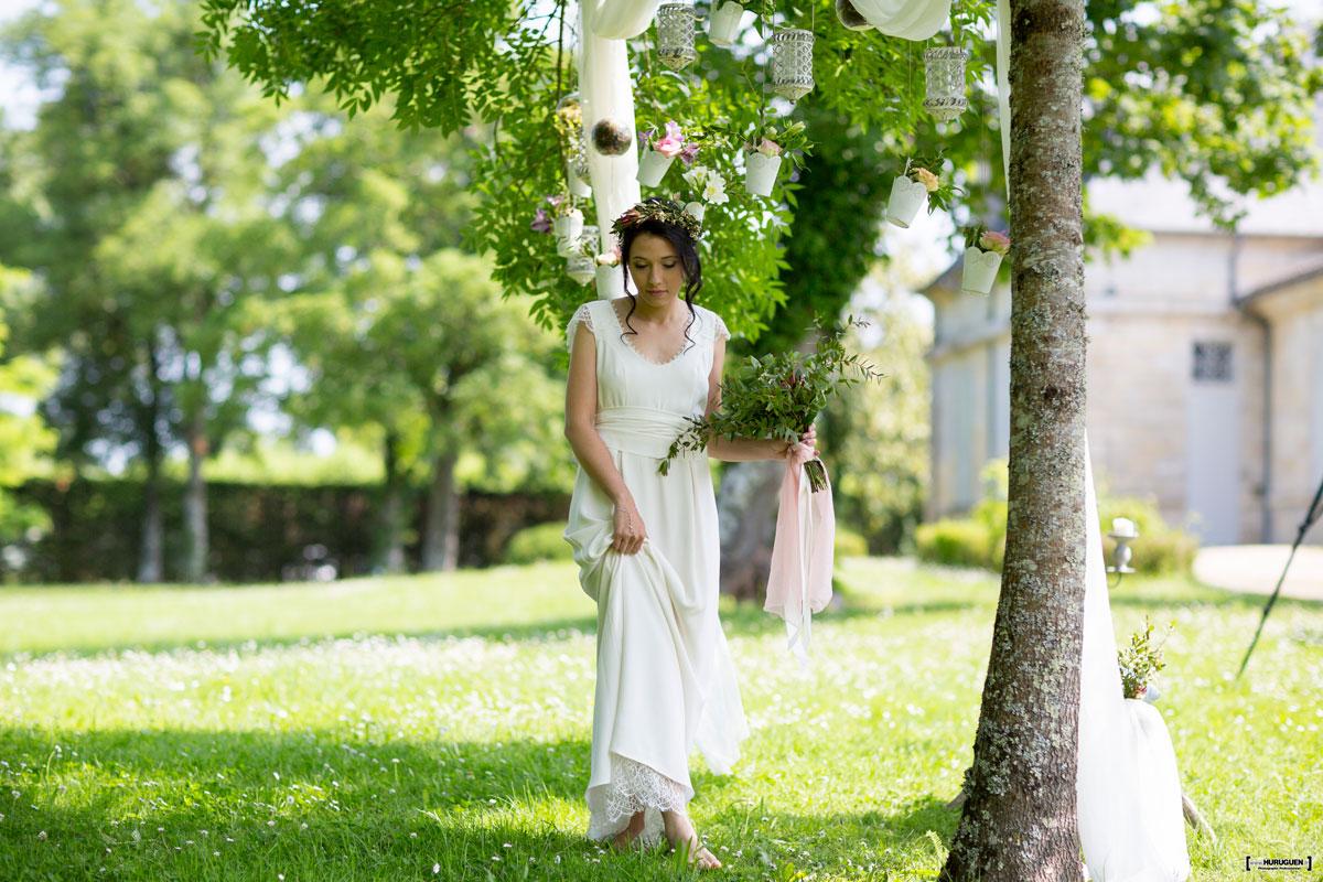 Décoration de Mariage dans un Jardin Romantique - Elisabeth ...