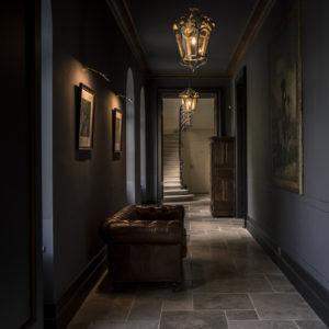 Salle Du Château Qui A Accueilli Ce Mariage Romantique.