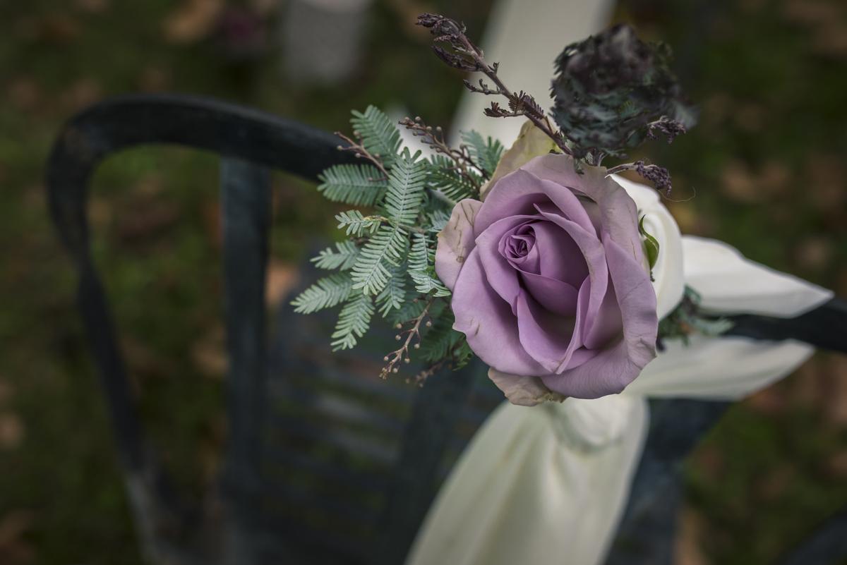 Décoration de mariage romantique par la décoratrice Elisabeth Delsol.