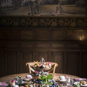 Décoration De Table De Mariage Romantique Par La Décoratrice Elisabeth Delsol.