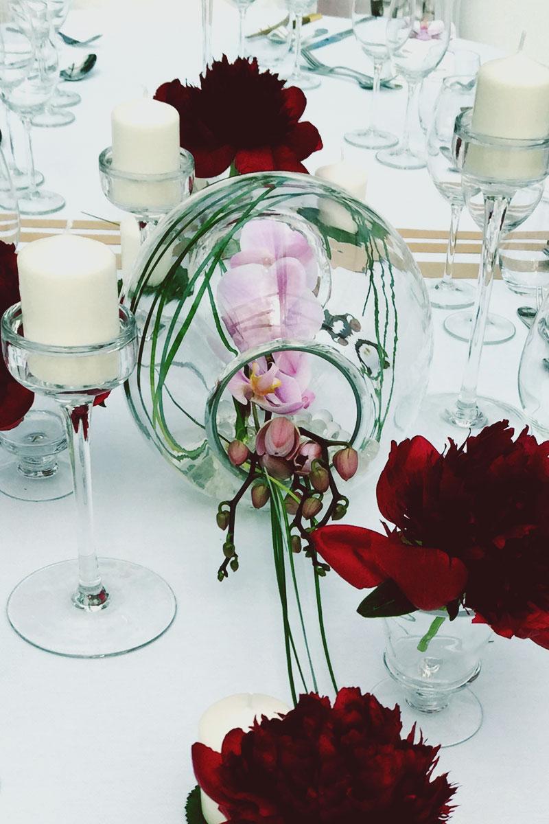 Vinexpo décoration de l'événement et soirée de gala par Elisabeth Delsol.