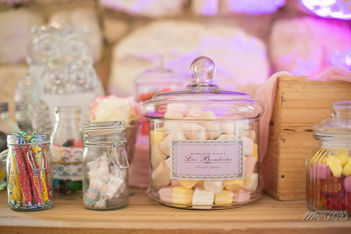 Déco candy bar mariage par la décoratrice Elisabeth Delsol.