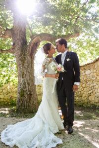 Séance Photo D'un Mariage Champêtre à Bordeaux Avec La Déco Et Les Bouquets D'Elisabeth Delsol.