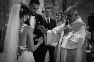 Cérémonie à L'église De Ce Mariage En Aquitaine.