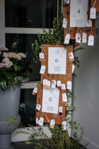 Plan De Table Champêtre Chic De Cette Réception De Mariage Au Lieu De Réception De Bordeaux Et De Gironde.