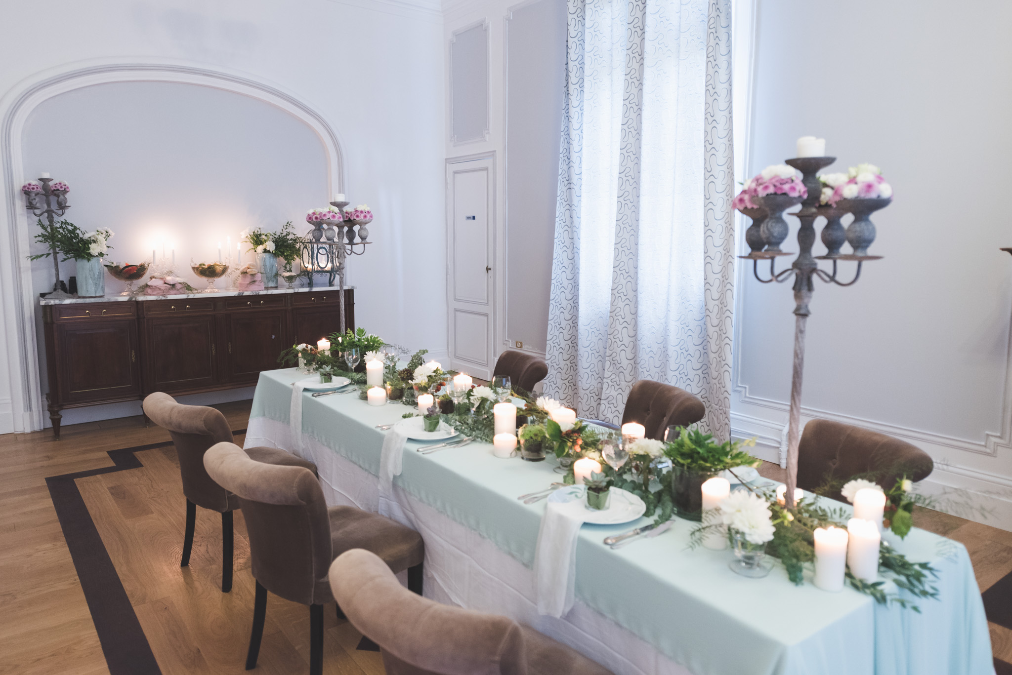 Shooting d'Inspiration mariage à Bordeaux : déco Elisabeth Delsol.