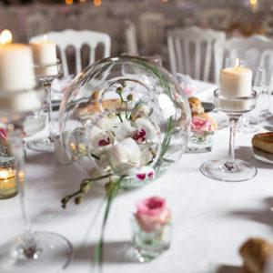 Composition Florale Blanche : Déco Mariage Et événement En Blanc Par Elisabeth Delsol.