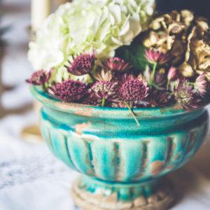 Composition Florale Violette : Déco De Mariage Et événement Violet Par Elisabeth Delsol.