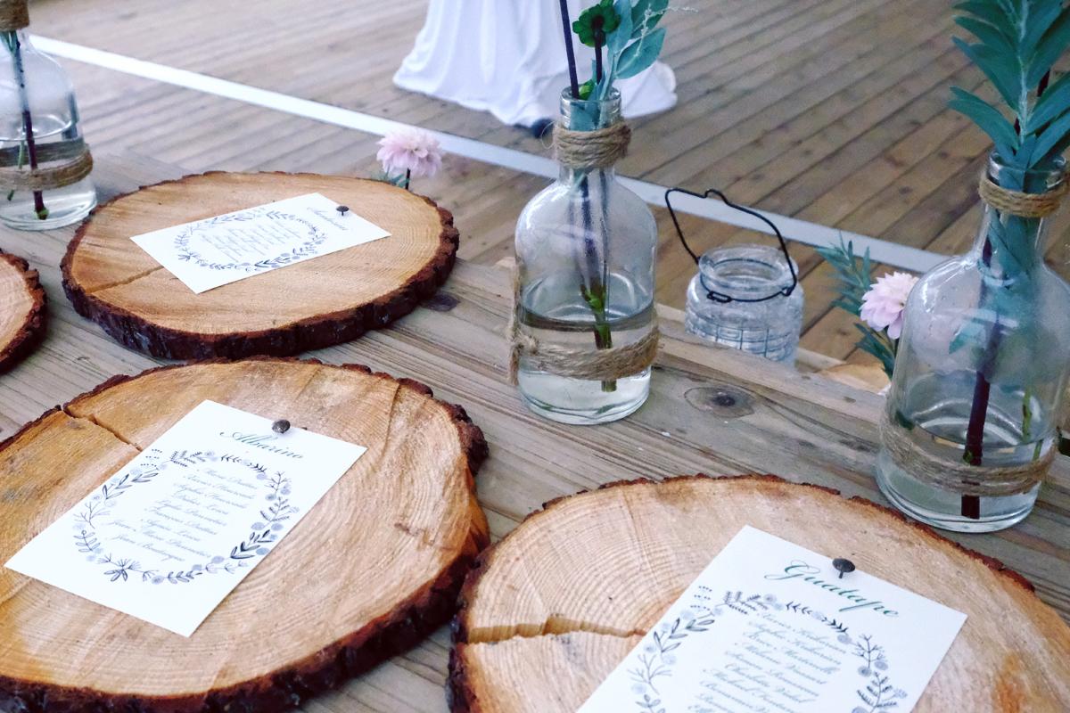 Mariage à Biarritz : Décoration et fleur de cérémonie et réception par Elisabeth Delsol.