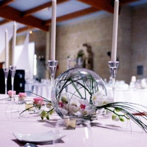 Décoration Salle De Mariage Romantique Et Originale Par Elisabeth Delsol.