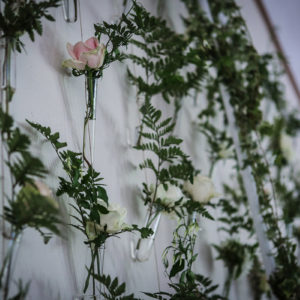 Décoration Florale Mariage Romantique Par Elisabeth Delsol.