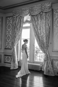 La Mariée En Photo Lors De Ce Mariage D'été.