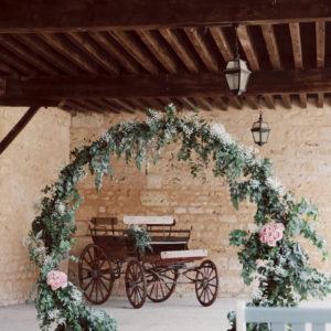 Arche De Cérémonie De Mariage Décoration Par Elisabeth Delsol