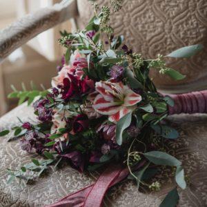 Bouquet De Mariée D'une Décoration D'Elisabeth Delsol.