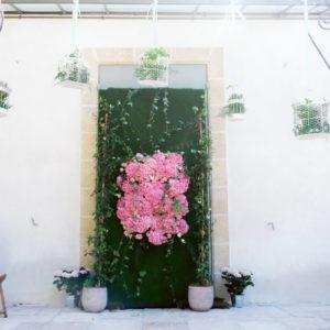 Composition Florale Hortensia Par Elisabeth Delsol.