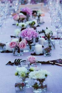 Décoration De Mariage En Rose Et Hortensia Chic Et élégante Par Elisabeth Delsol.