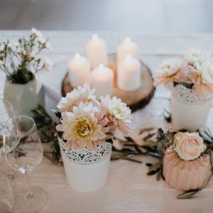 Décoration Style Bohème En Fleur Pour Mariage Et événement.