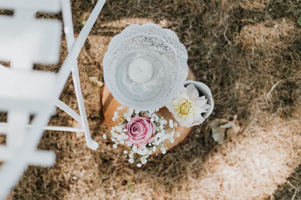 Saison fleur pour une décoration de mariage et événement.