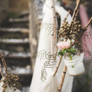 Thème Cuivre De Décoration Florale Pour Mariage Et événement.