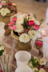 Vase Médicis Pour Une Décoration De Mariage Et Réception Au Centre De Table Et Composition Florale.