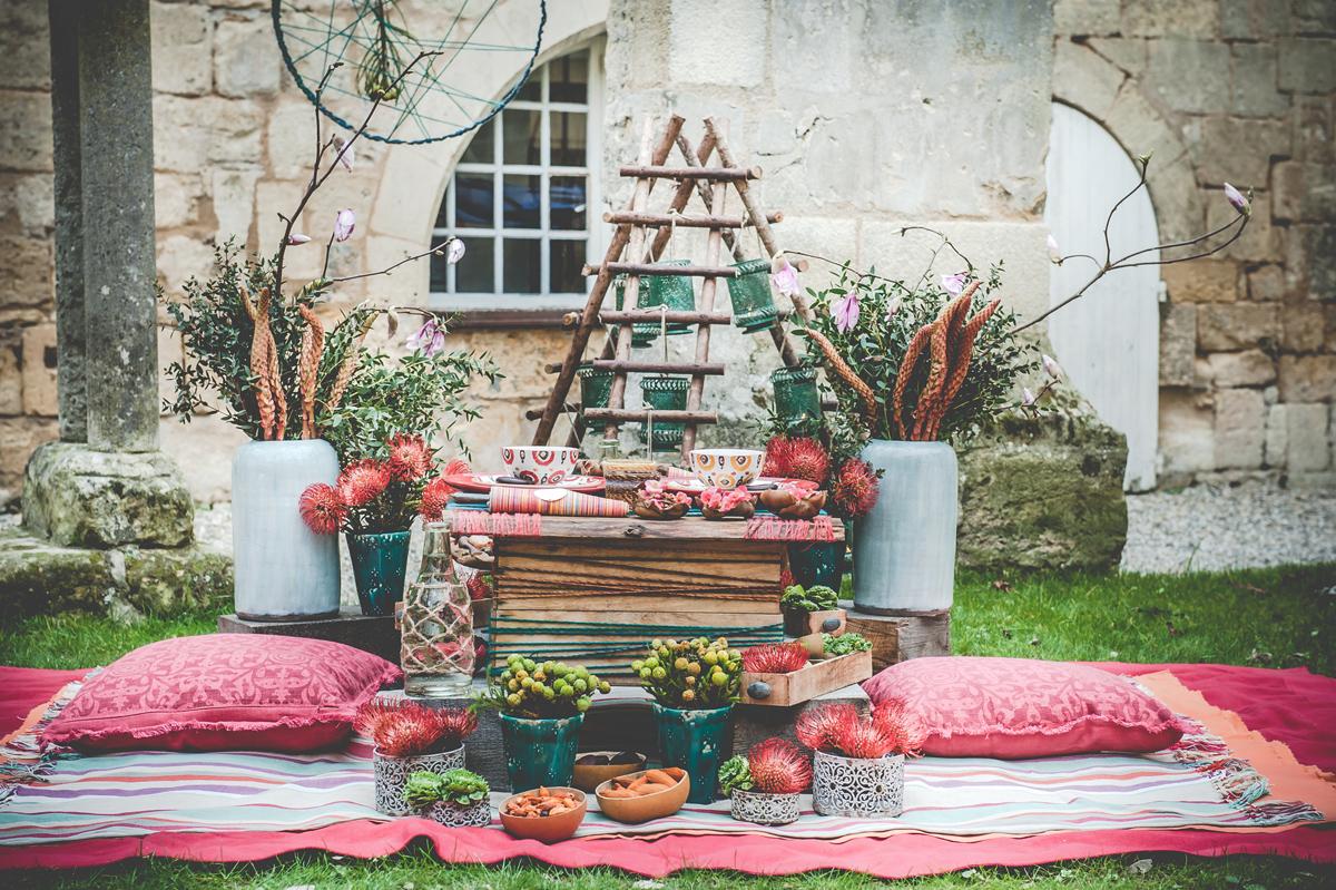 Decoration En Cagette De Bois Pour Mariage Reception Et Ceremonie