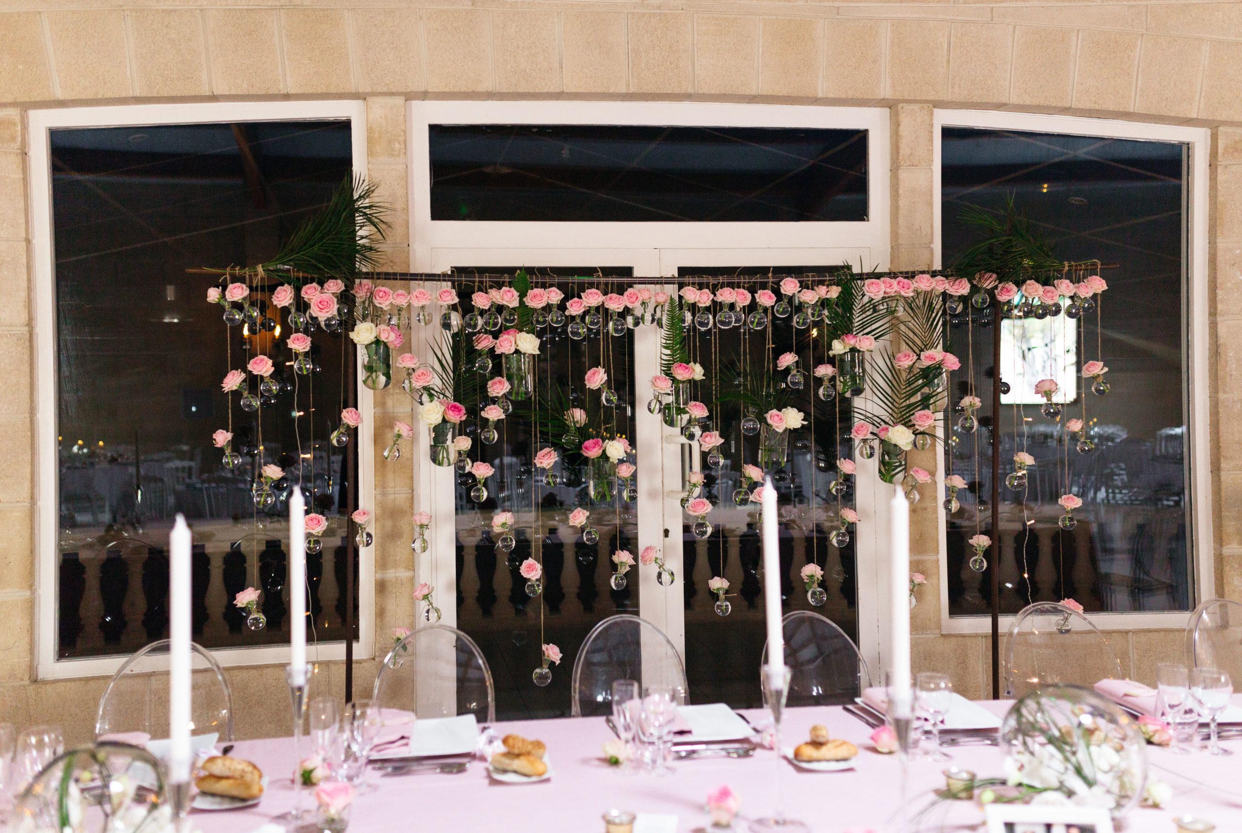Les fleurs pour bouquet de mariage et événement en avril.