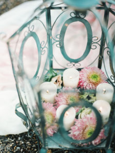 Thème Champêtre Chic Et Composition Florale Pour L'hiver.