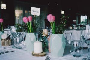 Fleurs En Soliflores Pour Mariage Simple Et Chic.