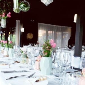 Décoration De Salle De Restaurant à La Maison Du Fleuve Sur Camblanes Et Meynac En Gironde.